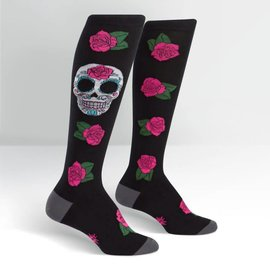 SUGAR SKULL - KNEE SOCKS