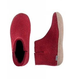 Glerups GLERUPS BOOT LEATHER SOLE RED