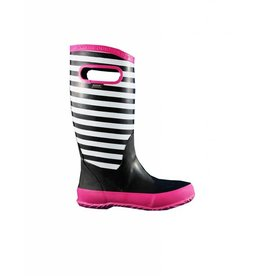 Bogs BOGS RAINBOOT STRIPE BLACK