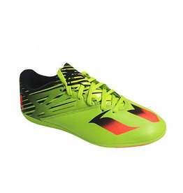Adidas ADIDAS MESSI 15,3 IN J SLIME BLACK & GREEN