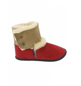 Garneau Garneau Reversed Sheepskin Bootie Red
