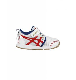Asics ASICS SCHOOL YARD TS BASEBALL BLANC&ROUGE