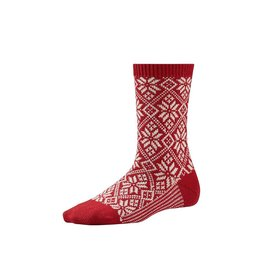 Smartwool SMARTWOOL TRADITIONAL SNOWFLAKE ROUGE