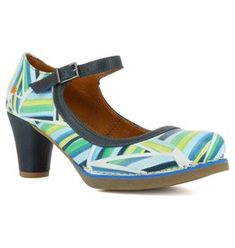 Art Metropolitan Shoes ART ST TROPEZ STRIPES BLUE