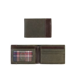 Johnston & Murphy JOHNSTON & MURPHY 46 16227 LODEN SUPER SLIM WALLET OLIVE