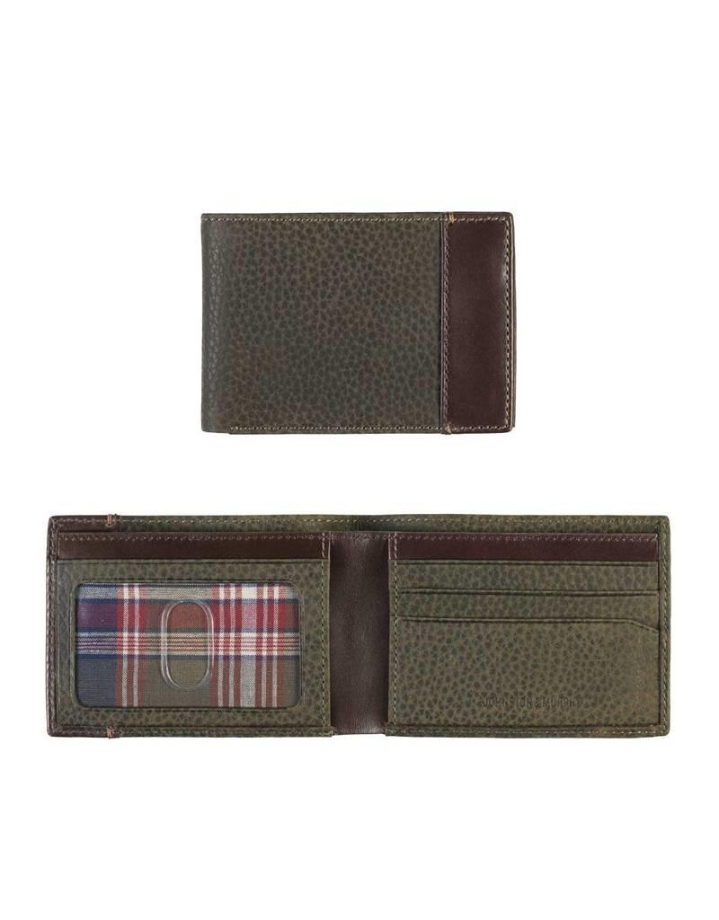 Johnston & Murphy PTF5300002  JOHNSTON & MURPHY 46 16227 LODEN SUPER SLIM WALLET VERT