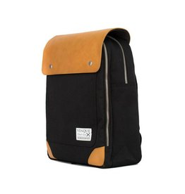 Venque VENQUE FLATSQUARE MINI BLACK&TAN