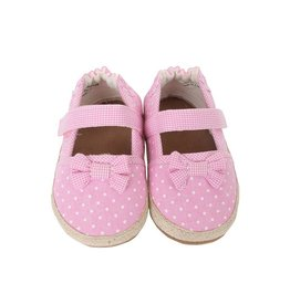 Robeez ROBEEZ BUTTERCUP ESPADRILLE ROSE