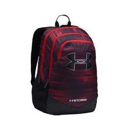 UNDER ARMOUR UNDER ARMOUR SCRIMMAGE BACKPACK RED&BLACK