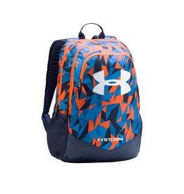 UNDER ARMOUR UNDER ARMOUR SCRIMMAGE BACKPACK BLEU&ORANGE