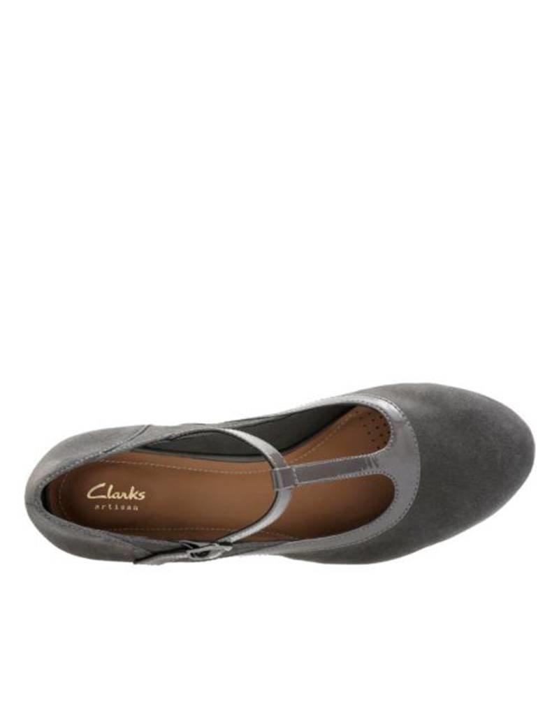 Clarks STF7300005 CLARKS CHORUS PITCH GRIS FONCÉ