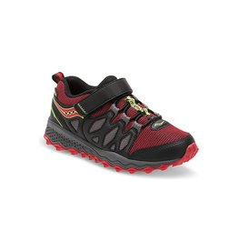 Saucony SAUCONY PEREGRINE SHIIELD AC BLACK&RED