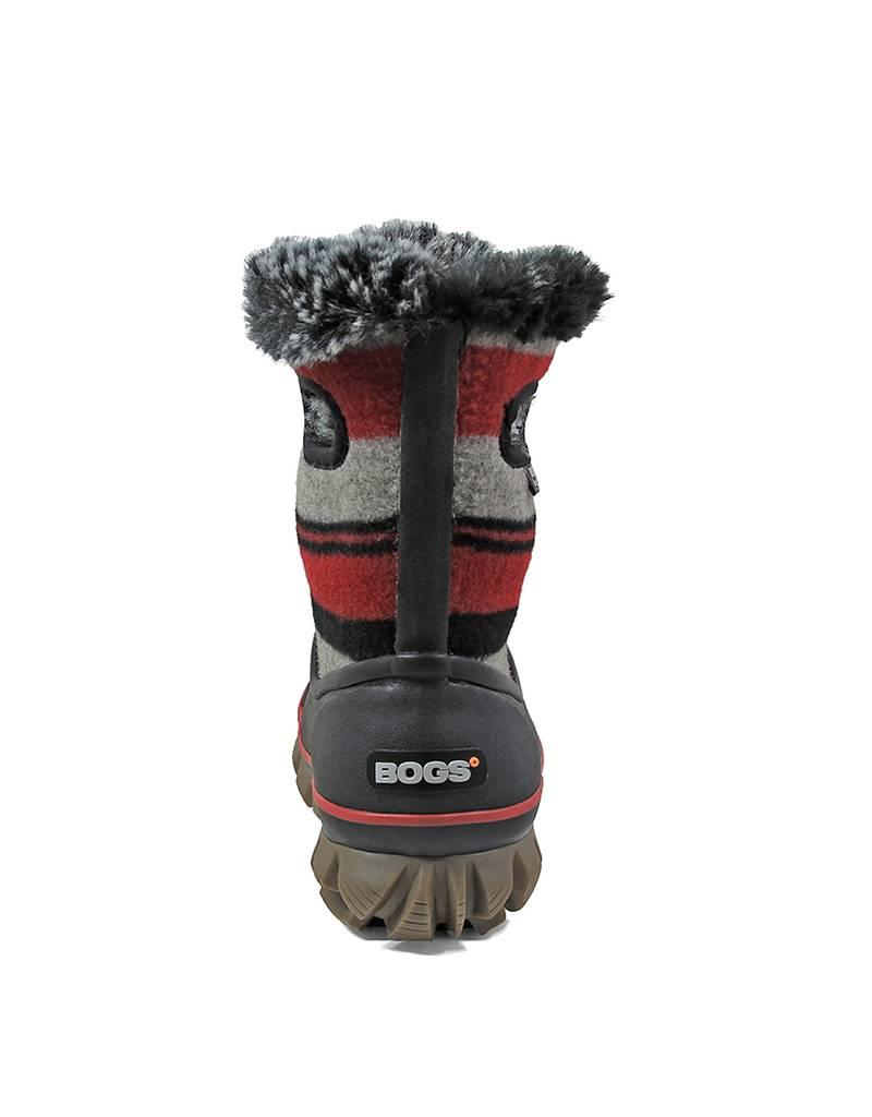Bogs BHF8300005 BOGS ARCATA STRIPE ROUGE