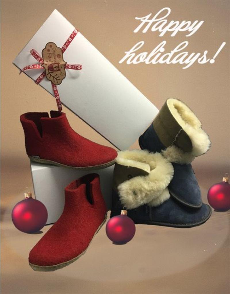 Emballage Cadeaux Pour Pantoufles