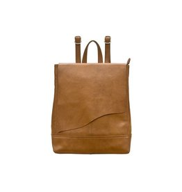 ILI New York ILI NEW YORK RAWHIDE BACKPACK TAN
