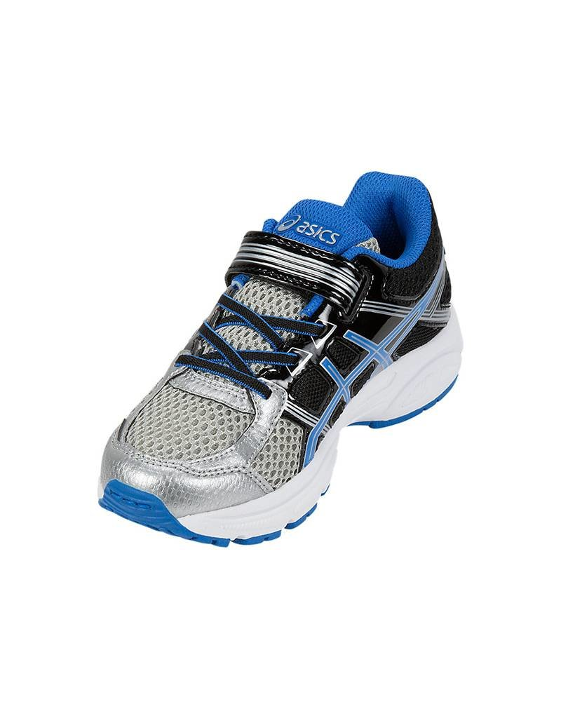 Asics RUN7300037 ASICS PRE-CONTEND 4PS ARGENT&BLEU