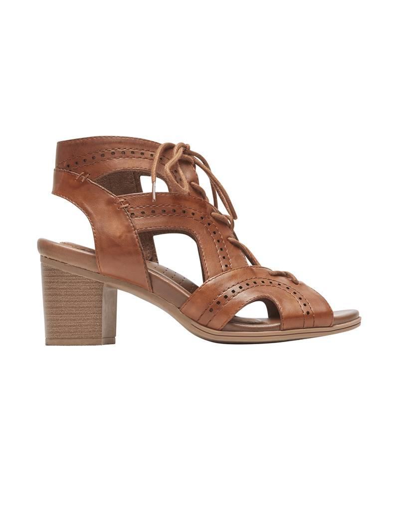 Rockport ZFF3300034 ROCKPORT HATTIE OPEN LACE TAN
