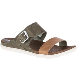 Merrell MERRELL AROUND TOWN BUCKLE SLIDE KAKI