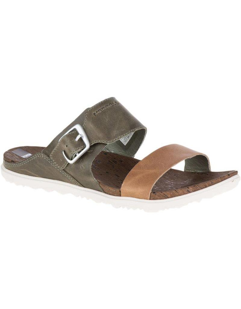Merrell ZFF5300004 MERRELL AROUND TOWN BUCKLE SLIDE KHAKI