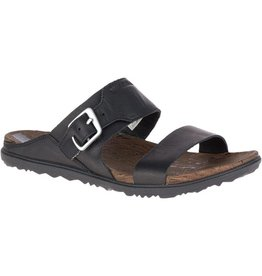 Merrell MERRELL AROUND TOWN BUCKLE SLIDE BLACK