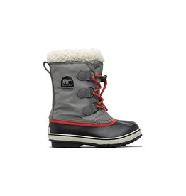 Sorel Sorel Yoot Pac Nylon Grey & Red