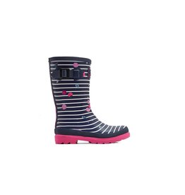 JOULES Joules Wellies Berry Stripe
