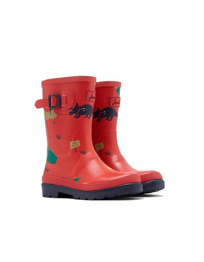 JOULES Joules Wellies Rouge Dino  BPE8300003
