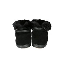 Robeez Robeez Cozy Ankle Booties Black