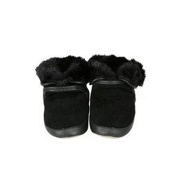 Robeez Robeez Cozy Ankle Booties Noir