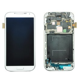S4 White LCD Without Frame