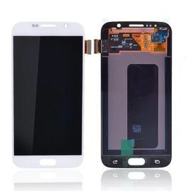 S6 White LCD without Frame