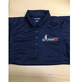 DPF Ladies Polo Shirts (XSmall) blue