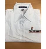 DPF Ladies Collar Shirts (Medium) White