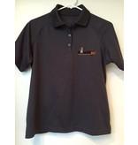 DPF Ladies Polo Shirts (Medium) Grey