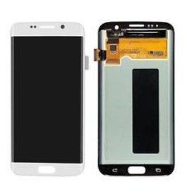 S7 Edge White LCD