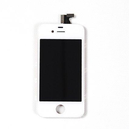 iP4 CDMA White Digitizer/LCD