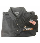 DPF Men Polo Shirts with Flag (Small) Blue