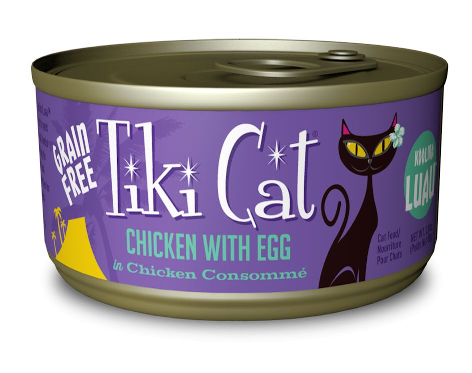 Tiki Cat Koolina Luau Chicken With Egg Canned Cat Food 2