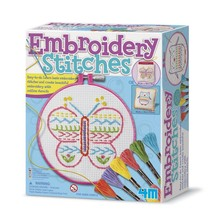 4M 4M Craft Kit Embroidery Stitches