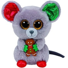 Ty Ty Beanie Boo Christmas Mac Mouse Regular