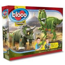 Bloco Bloco Dinosaurs T-Rex & Triceratops