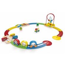Hape Toys Hape Musical Rainbow Railway