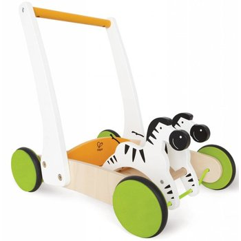 Hape Toys Hape Galloping Zebra Cart