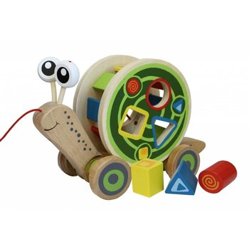 Hape Toys Baby Walk Along Snail