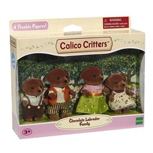 Calico Critters Calico Critters Family Chocolate Lab