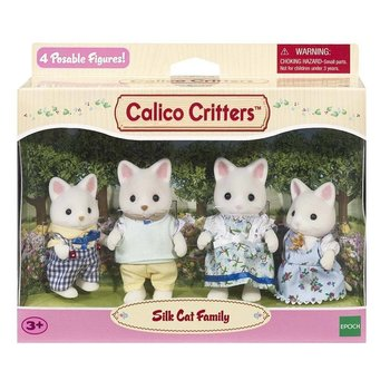 Calico Critters Calico Critters Family Silk Cat