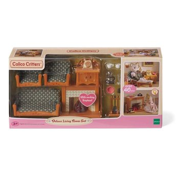 calico critters room deluxe living room set - minds alive! toys