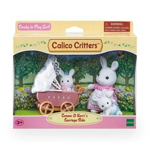 Calico Critters Calico Critters Set Conner & Kerri's Carriage Ride