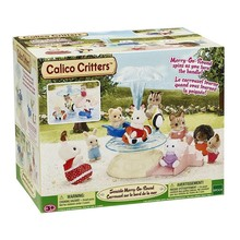 Calico Critters Calico Critters Set Merry-Go-Round disc
