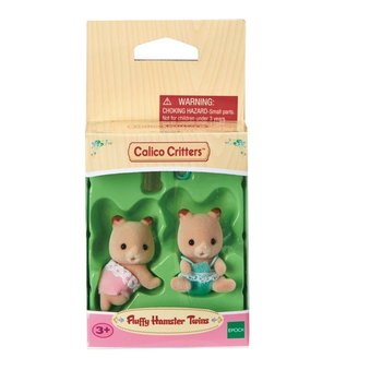Calico Critters Calico Critters Twins Fluffy Hamster
